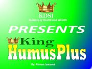 KDSI KING HUMUSPLUS PRESENTATION ORGANIC FERTILIZER - Part 1