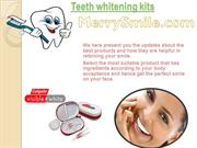 Best Teeth Whitening Kits and Products