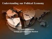13 - Understanding our Political Economy - what henry george taught us