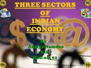 Diffrent  sector of Indian economy
