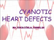 CYANOTIC HEART DEFECTS