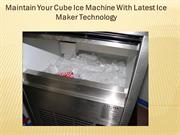Portable Ice Cube Making Machine & Best Ice cube Maker Machine