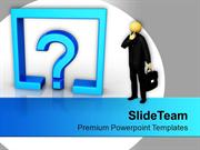 Confusion Business Concept PowerPoint Templates PPT Themes And Graphic