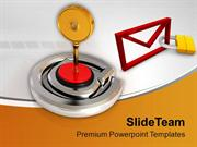 Protected Email Internet Symbol PowerPoint Templates PPT Themes And Gr