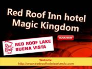 Red Roof Inn hotel Magic Kingdom
