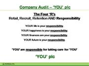 Company Audit - power point