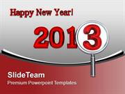 Focusing Towards New Year Celebration PowerPoint Templates PPT Themes