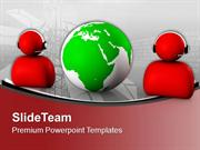 Global Communication And Information Concept PowerPoint Templates PPT