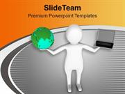 Illustration Of Global Business PowerPoint Templates PPT Themes And Gr