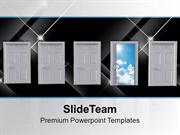Right Choice Amongst Four Future PowerPoint Templates PPT Themes And G