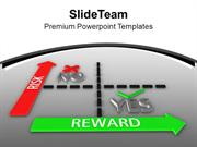 Targets Opportunities With Risk And Great Reward PowerPoint Templates