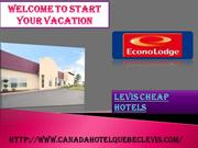 Levis cheap hotels