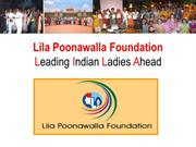 Lila Poonawalla Foundation - Post Graduate Program