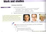 Unit 2 Work and studies elearning file