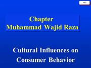 cultural influence and cb