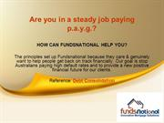 How Can FundsNational Help You   Debt Consolidation