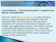 Cloud Solutions Not Just Technology But Savings