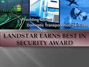 Landstar Earns Best in Security Award