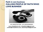CALLING PEOPLE OF FAITH WHO LOVE BUSINESS
