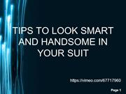 Tips to look smart and handsome –mensusa