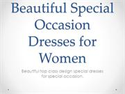 Elegant Special Occasion Dresses for Women