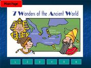 The se3ven wonders of the ancient world