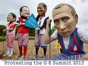 Protesting the G-8 Summit 2013