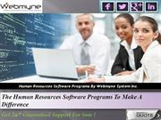 Human Resource Management System Software Reduces Work