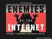 Enemies of the Internet – These Governments Monitor Their Citizens
