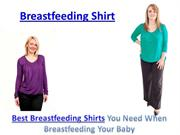 Breastfeeding Shirt
