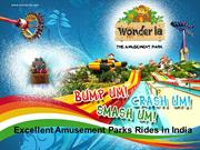 Excellent Amusement Parks Rides in India