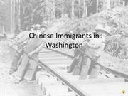 Chinese Immigrants in Washington