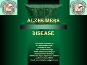 Alzheimer disease by siva 2013