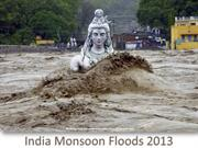 India Monsoon Floods 2013