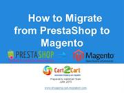 How to Migrate from PrestaShop to Magento