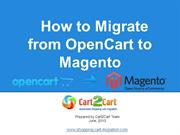 How to Migrate from OpenCart to Magento