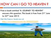 How can I go to heaven?