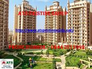 Call 84470-11992 for New Launch ATS Pristine Group Flats in Nodia