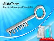 Future Key Business Success Concept PowerPoint Templates PPT Themes An