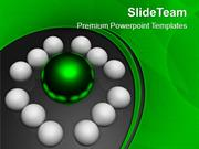 Leader Of Business Team PowerPoint Templates PPT Themes And Graphics 0