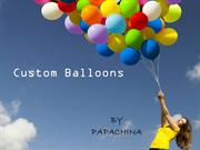 Promote Your Business with Custom Balloons