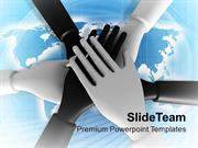 Solution Teamwork Concept Business PowerPoint Templates PPT Themes And