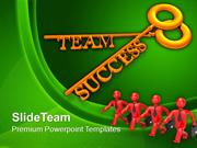 Team And Success Key Business PowerPoint Templates PPT Themes And Grap