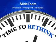 Time To Rethink Concept Business PowerPoint Templates PPT Themes And G