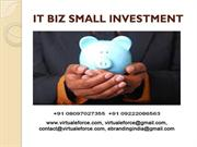 WANT TO OWN YOUR OWN IT BIZ SMALL INVESTMENT ONLY NEEDED