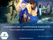 Empowered Labs – Lucid Dreaming Supplements