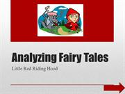 Advanced Presentation Analyzing Fairy Tales