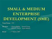 Small & Medium Enterprise