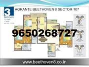 Agrante Beethoven 8 Sector 107 Gurgaon @ 9650268727