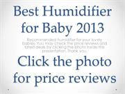 Best Baby Humidifier Family Home Room Humidifiers